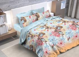 Комплект постельного белья семейный из бязи Стандарт Марго 2