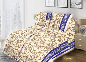 Комплект постельного белья 1,5сп бязь Стандарт Барокко 1