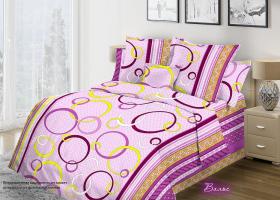 Комплект постельного белья 1,5сп бязь Стандарт Вальс 1