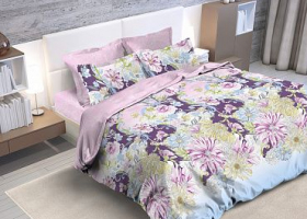 Комплект постельного белья семейный бязь ГОСТ Марго 1
