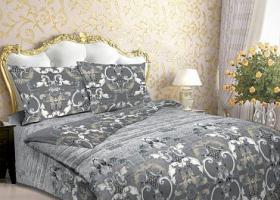 Комплект постельного белья евро из бязи Стандарт Вензель 2