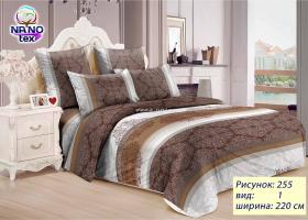 Комплект постельного белья семейный из бязи Стандарт Жасмин
