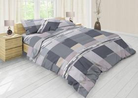 Комплект постельного белья евро из бязи Стандарт Адриан