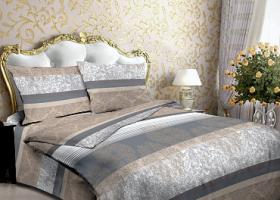 Комплект постельного белья евро из бязи Стандарт Дилан