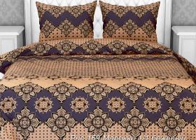 Комплект постельного белья евро из бязи Стандарт Марокко 1