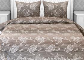Комплект постельного белья евро из бязи Стандарт Виньетка 8