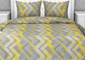 Комплект постельного белья евро из бязи Стандарт Ниагара 5
