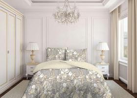 Комплект постельного белья евро бязь Стандарт Благородный пион