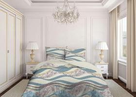 Комплект постельного белья евро бязь Стандарт Галактика