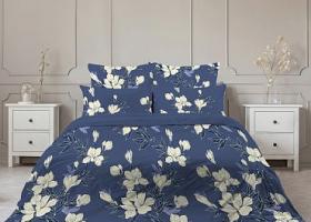 Комплект постельного белья евро бязь Стандарт Тонкий аромат