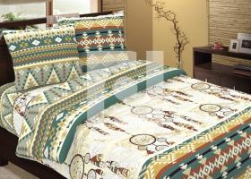 Комплект постельного белья 2сп бязь Традиции текстиля Ловец снов