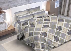 Комплект постельного белья Семейный бязь ГОСТ Оксфорд 1