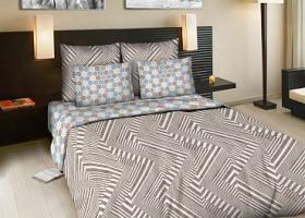Комплект постельного белья евро из бязи Стандарт Пижон 2