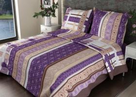 Комплект постельного белья 1,5сп бязь ГОСТ Аккорд фиолетовый