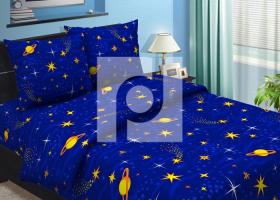 Комплект постельного белья 1,5сп бязь Традиции текстиля  Ночка