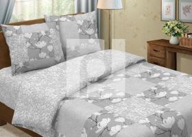 Комплект постельного белья евро из бязи Традиции текстиля Каролина