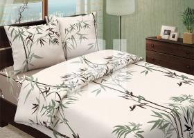 Комплект постельного белья семейный из бязи традиции текстиля Тростник