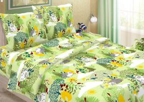 Комплект постельного белья 1,5сп бязь традиции текстиля Ёжик