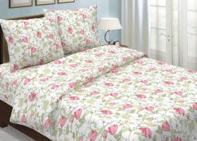 Комплект постельного белья 1,5сп бязь традиции текстиля Клематис