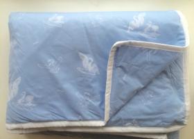 Одеяла Лебяжий пух 1,5сп облегченное