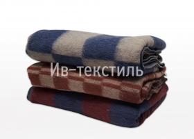Одеяло п/ш Шуя 70% шерсть 110х140  детское 500г/м2