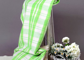 Одеяло п/ш  1,5сп Шуя 40% шерсть 400г/м2