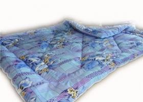Одеяло в бязи из овечьей шерсти 2сп Зима