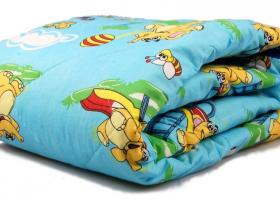Одеяло холлофайбер в бязи детское