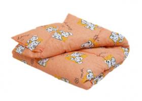 Одеяло ватное в бязи детское