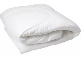 Одеяло Лебяжий пух 1,5сп поплин отбеленный