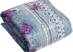 Одеяло синтепон 2сп в полиэстере пл 100
