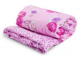 Одеяло детское синтепон 110х140 в полиэстере пл 300