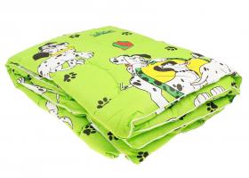 Одеяло детское полиэфирное 110х140 в бязи