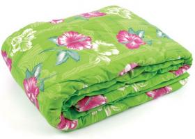 Одеяло полиэфирное 1,5сп (синтепон) в полиэстере