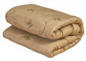 Одеяло из овечьей шерсти 1,5сп полиэстер Всесезон