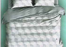 Комплект постельного белья поплин семейный Бишоп