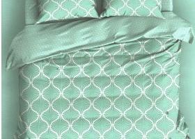 Комплект постельного белья поплин семейный Джесси