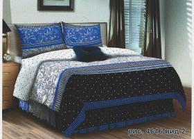 Комплект постельного белья семейный поплин Кьянти