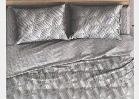 Комплект постельного белья семейный поплин Рафаэль