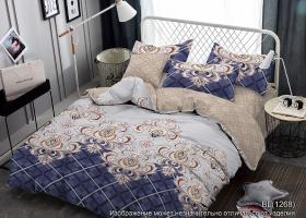 Комплект постельного белья 2сп поплин Сапфир