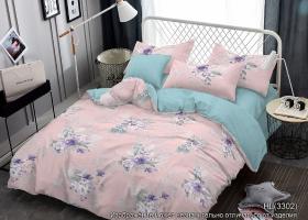 Комплект постельного белья семейный поплин Серсея