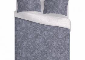 Комплект постельного белья семейный поплин Симпл