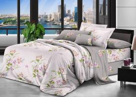 Комплект постельного белья семейный поплин Габриэлла