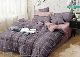 Комплект постельного белья семейный поплин Бавария