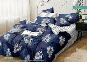 Комплект постельного белья семейный поплин Нежный сон