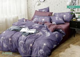 Комплект постельного белья семейный поплин Элиза
