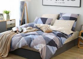 Комплект постельного белья семейный поплин 1736