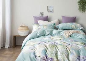 Комплект постельного белья семейный поплин 1742