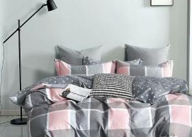 Комплект постельного белья семейный поплин 1746