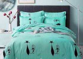 Комплект постельного белья семейный поплин 1747